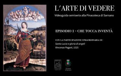 L'Arte di Vedere Videoguida semiseria alla Pinacoteca di Sarnano.